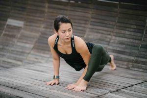 escorts in London - hot asian girl doing yoga position